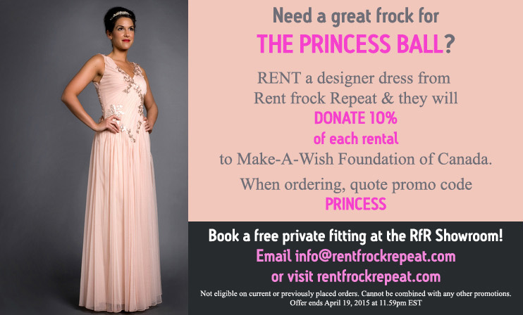 The Princess Ball | Use Rent Frock Repeat to Rent the Dress and ...